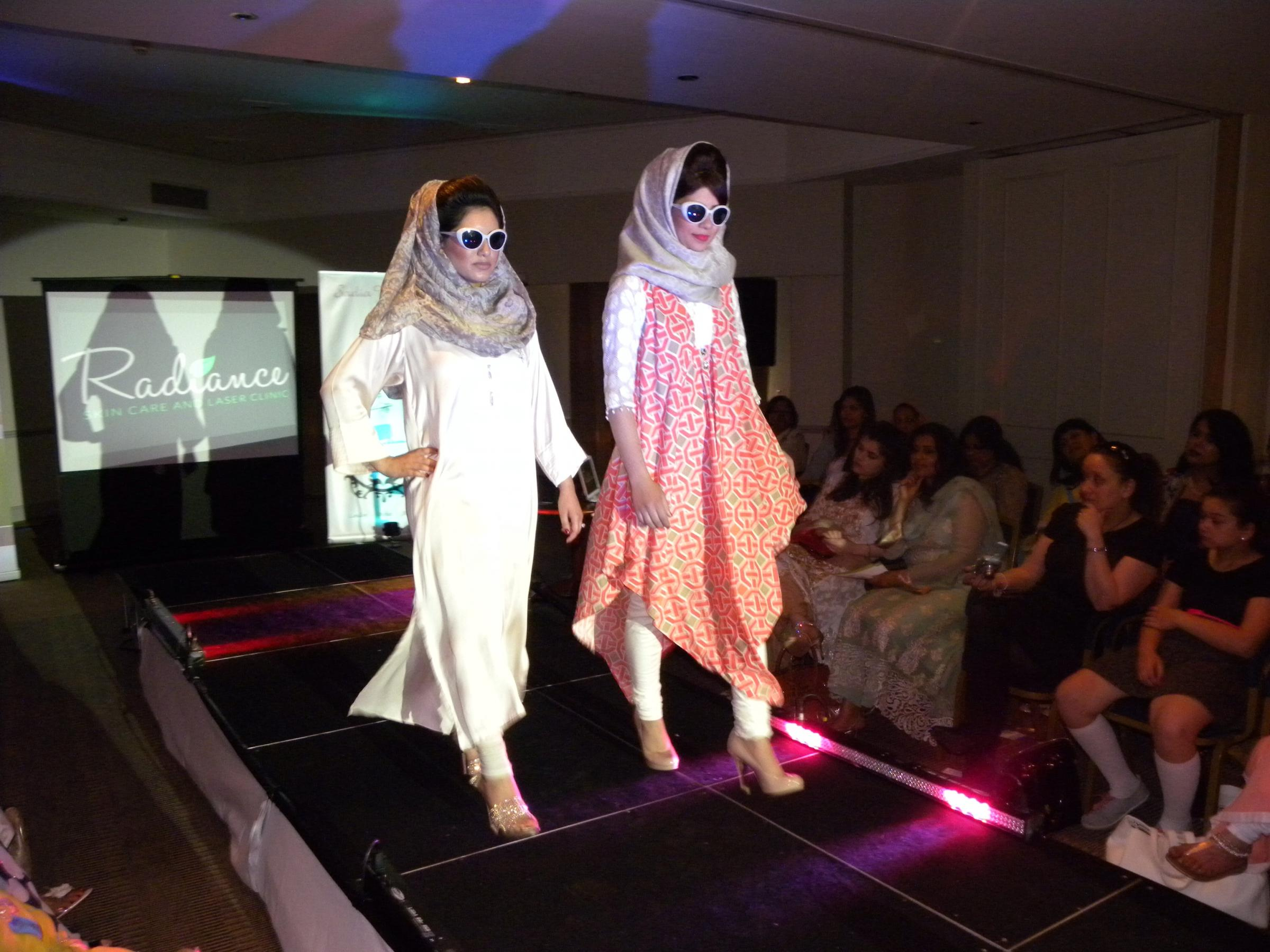 Catwalk show in Sutton showcases work of Pakistani-based designers