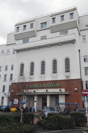 Epsom and St Helier hospitals do not spend money on porn for patients