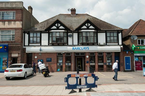 Banks for the memories: Barclays has been in London Road since 1930