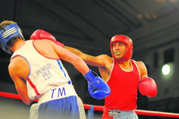 Sutton Guardian: Step up: Louis Adolphe, out of Earlsfield ABC, will be facing his first pro opponent on Wednesday night