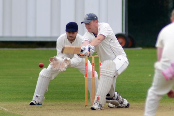 Sutton Guardian: Among the runs: Worcester Park's Rob Waite on his way to 88 in the losing draw against Dulwich