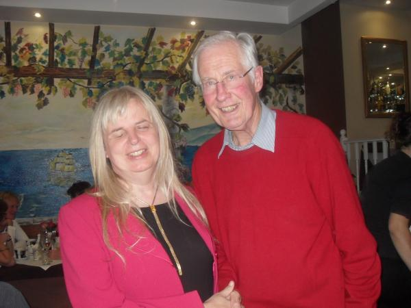Emily Brothers with Michael Meacher