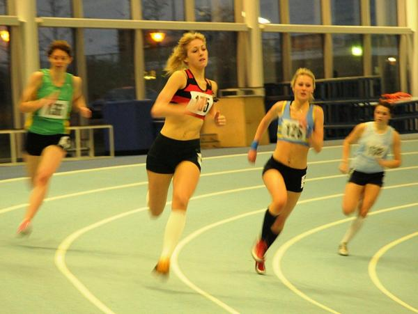 Record-breaker: Jessie Knight of Herne Hill Harriers