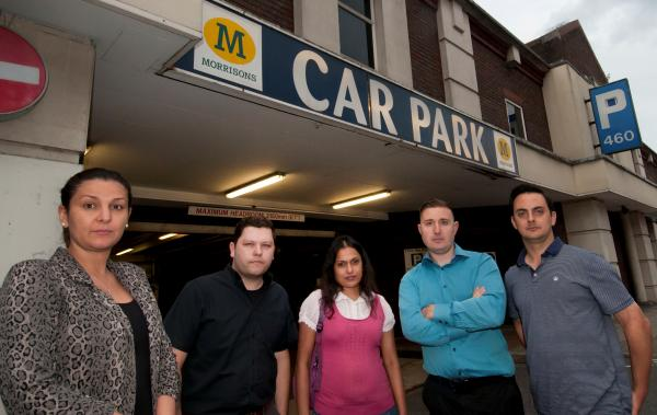 Angry neighbours plan to sue Morrisons