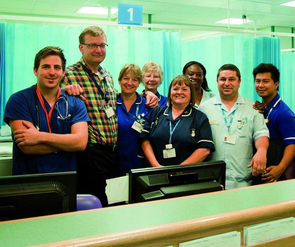 St Helier Hospital's A&E staff