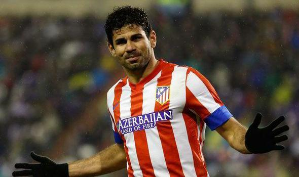 Hungry: Diego Costa of Chelsea