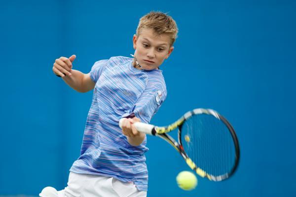 Concentration: Jack Draper at the Nike Junior Tennis Championships