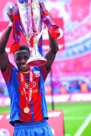 Final act? Wilfried Zaha's last game for Crystal Palace was at Wembley