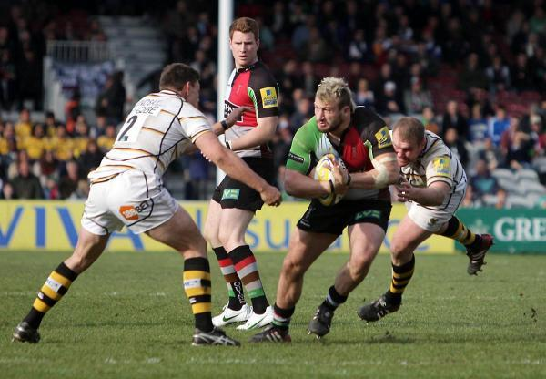 First impression: Quins skipper Joe Marler expects Kyle Sinckler to kick on this year