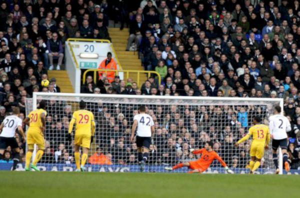 Spark: Jason Puncheon's penalty miss at Spurs led to a spat with Neil Warnock