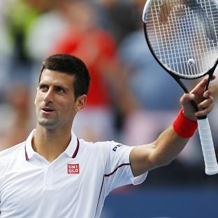 Novak Djokovic eased through to the fourth round (AP)