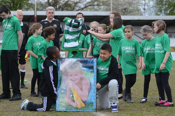 Remebering Liam: Last year The Liam Charity held a football match at Colston Avenue