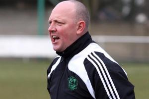 Carshalton Athletic Massey prepares to pile the pressure on his old Whyteleafe employers