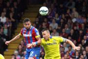 No deal... yet: Damien Delaney is yet to sign a new contract at Crystal Palace, says boss Neil Warnock               SP88047