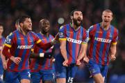 Mile Jedinak can barely contain his delight following his spectacular free-kick. Picture by Keith Gillard.