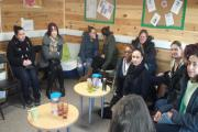 Roughly 20 mothers attended the meeting at the Amy Johnson Children's Centre