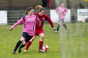 Borough derby: Action from the clash between Surrey Eagles and Carshalton Athletic Ladies