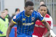 Will he stay, or will he go: Adedeji Oshilaja's loan from Cardiff City runs out at the end of the season                  SP89799