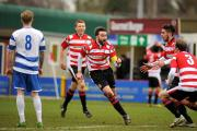 Disappointed: Kingstonian skipper Alan Inns believes chances of play-offs are slim, but still there