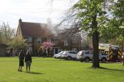 Firefighters called to this home in Morden
