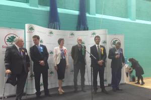 Tom Brake holds off Tory challenge to earn his fifth term as MP for Carshalton Wallington