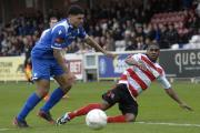 Man in demand: Ex-Ks striker Andre McCollin may be able to name his price in the Ryman Premier League this summer
