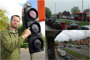 Road rage: St Helier Avenue resident Mark Gale complained to TfL about the traffic light tailbacks.