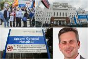 "Daniel Elkeles said he acted with integrity in assuring readers Epsom and St Helier hospitals were safe - despite the incident he has dubbed ""Traingate"" just three weeks later"