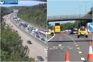 Thousands trapped on M25 after serious crash