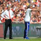 Sutton Guardian: Arsene Wenger, left, suggested a lack of respect was behind his decision to snub Jose Mourinho