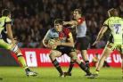 Experienced: It is hard to believe former England U20 international Charlie Matthews has already chalked up more than 100 appearances for Harlequins