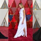 Sutton Guardian: Kirsten, Karlie and Taraji in capes, gowns and glitter on the Oscars red carpet