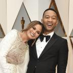 Sutton Guardian: John Legend and Chrissy Teigen were 'couple goals' on the Oscars red carpet