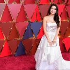 Sutton Guardian: Auli'i Cravalho battles through Oscars performance despite being hit by flag
