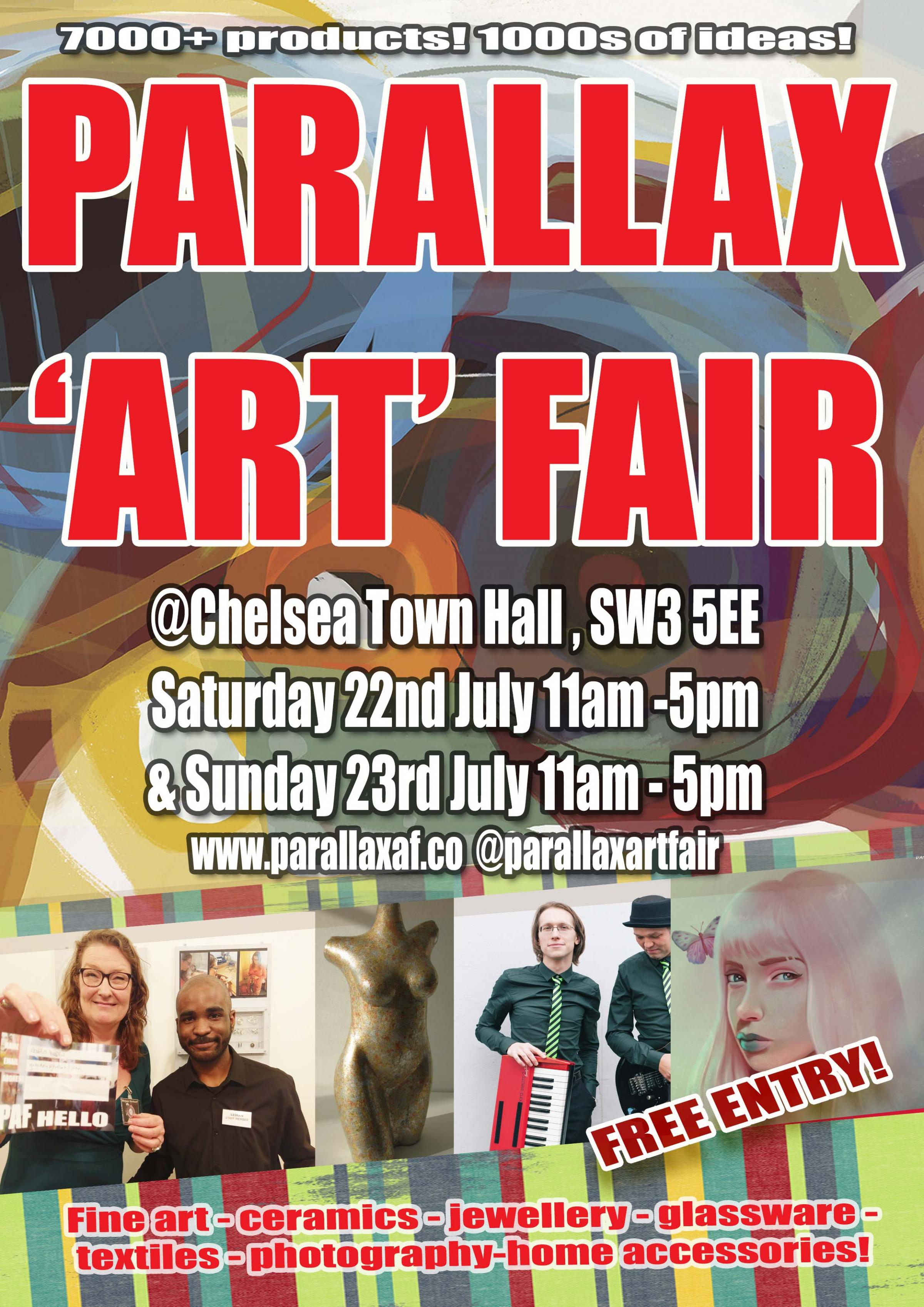 Parallax Art Fair July 2017