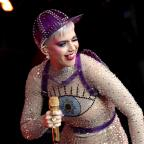 Sutton Guardian: Katy Perry joins crowd at Glastonbury