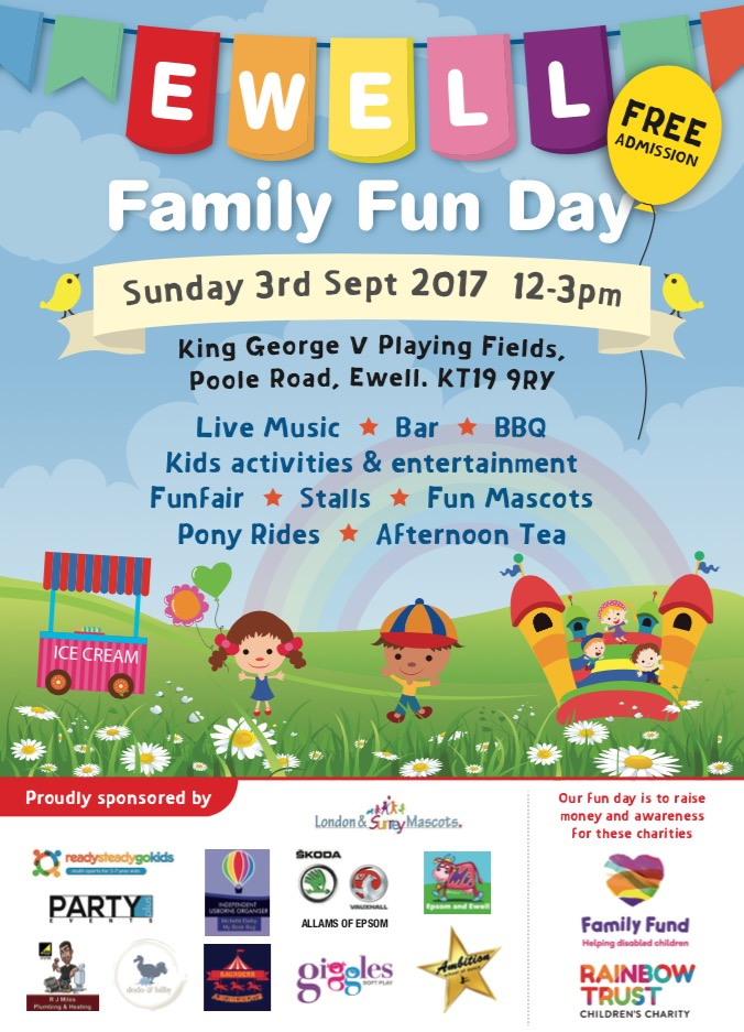 3rd annual Ewell Family Funday