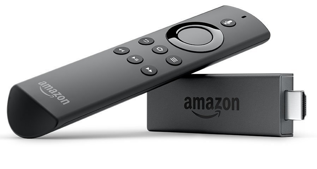 The new Amazon Fire TV stick with Alexa remote
