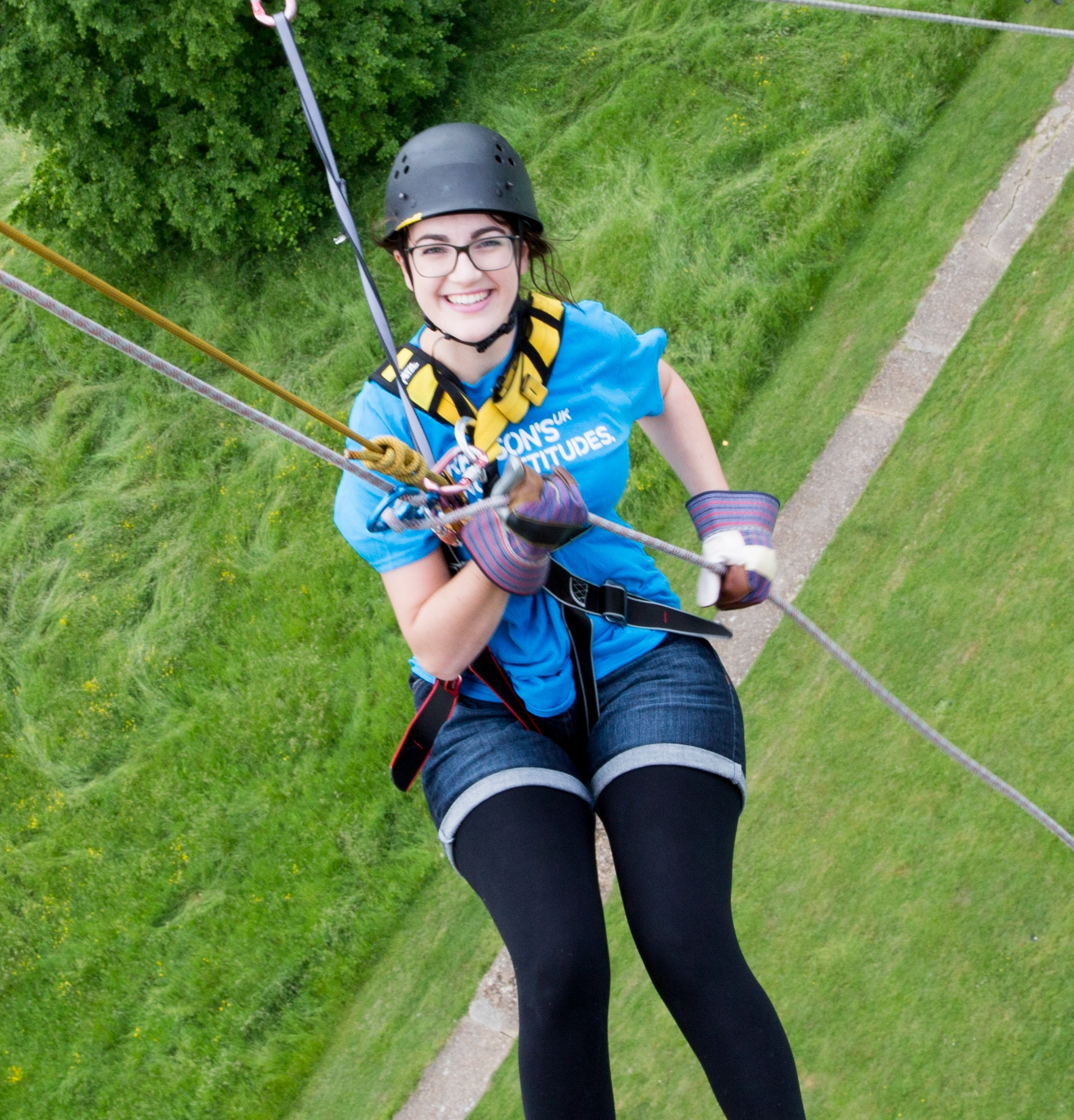 Guildford Cathedral Abseil with Parkinson's UK