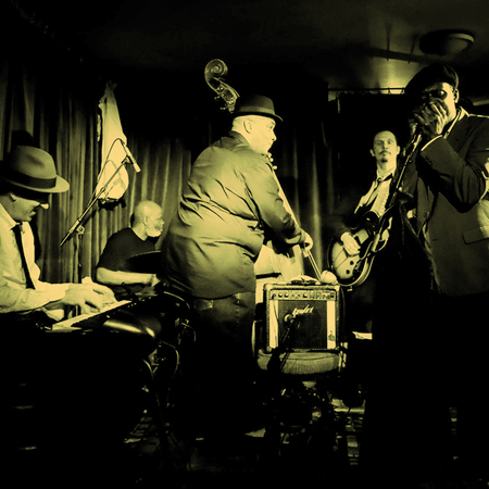 The Errol Linton Band plays blues and more at Hideaway Jazz Club London