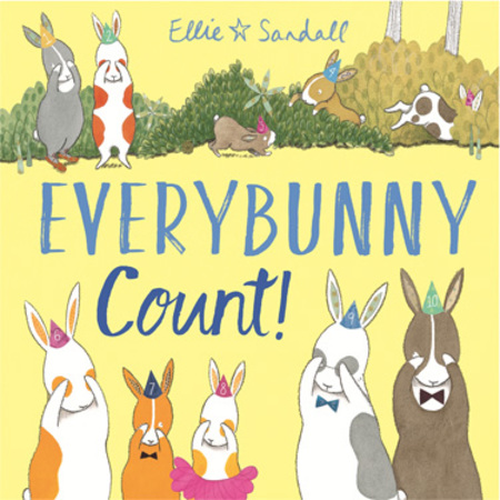 Ellie Sandall with Everybunny Count