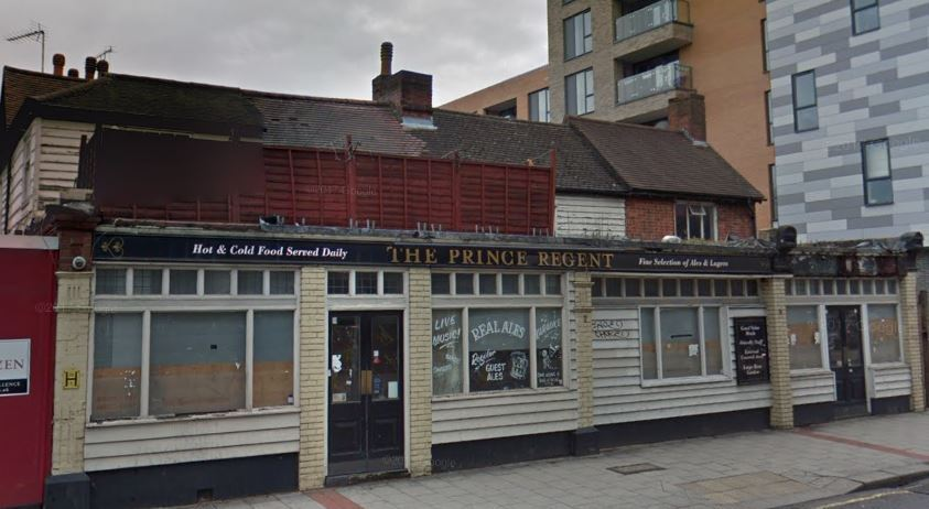 The Prince Regent pub will not be turned into flats just yet