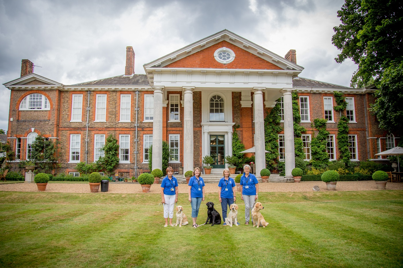 Garden Party for Guide Dogs at Trumpeters' House