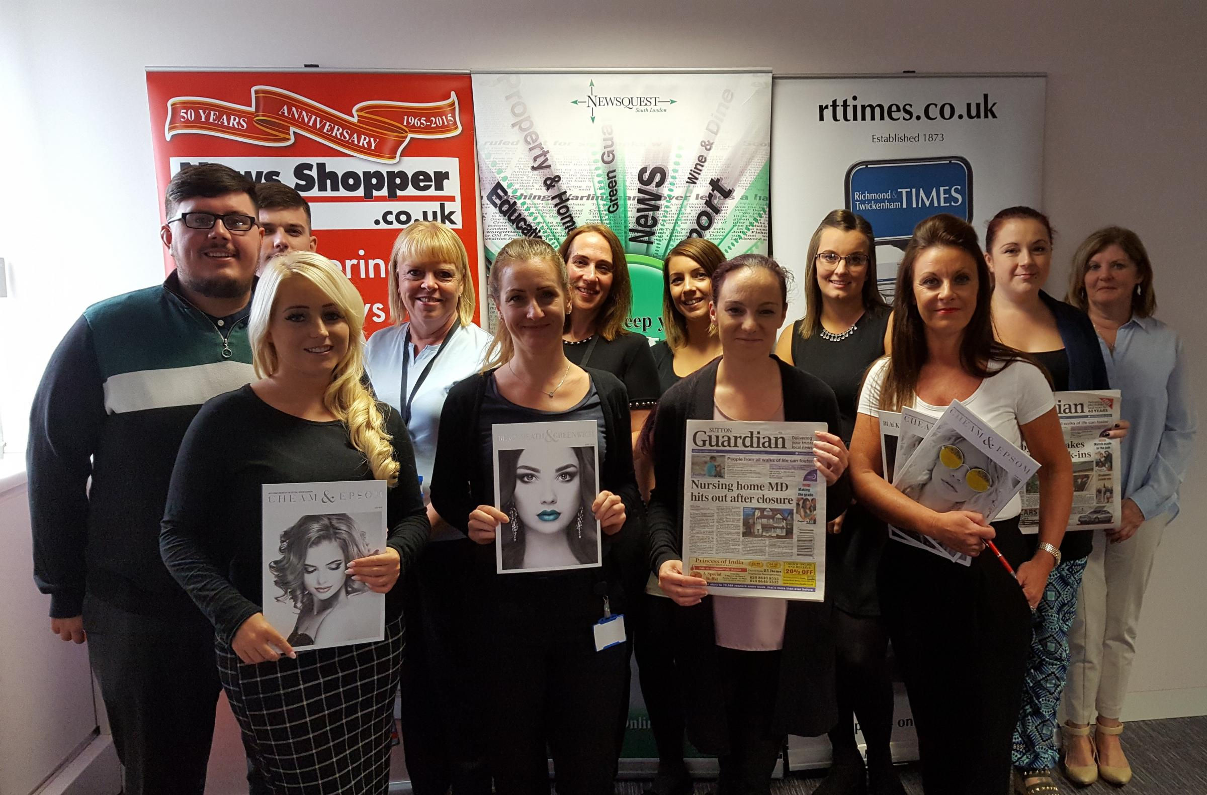 Newsquest South London's award-winning team