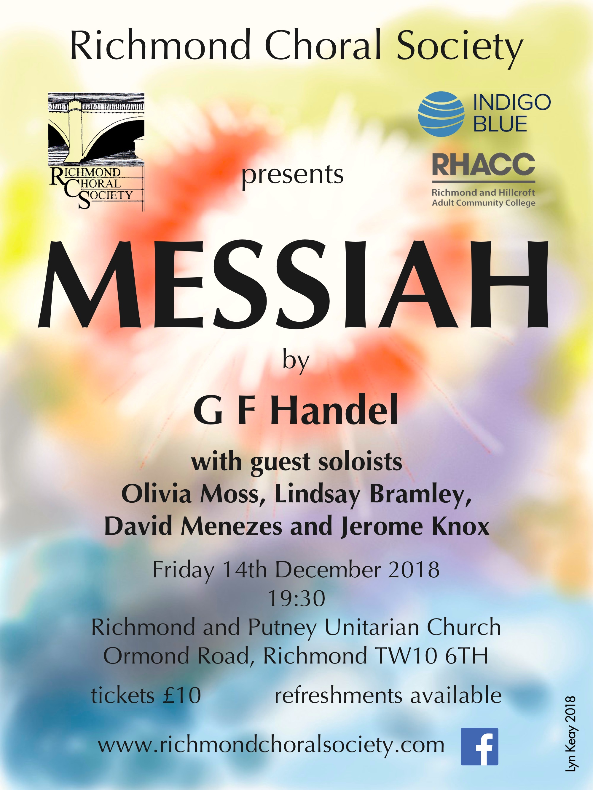 Richmond Choral Society - Handel's Messiah