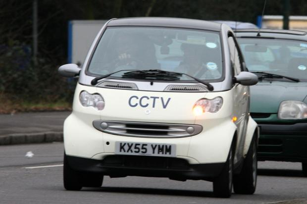 Sutton Guardian: The dreaded CCTV spy car