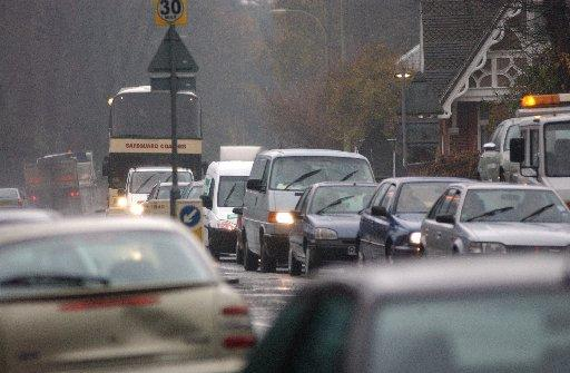 Rush hour crash causes gridlock